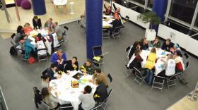 La Waoup Innovation Night réunit 1.000 participants au Grand Stade de l'OL
