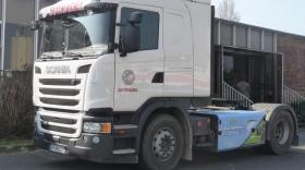 Camion Sotradel GNC, brefeco.com