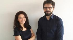 Pascale Milani et Julien Chlasta, les deux fondateurs de BioMeca