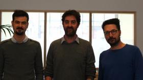 Les trois fondateurs de Teaser Médias, brefeco.com