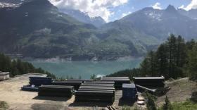 Tignénergies construit une centrale hydroélectrique à Tignes