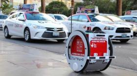 Le robot TwinswHeel est né dans la pépinière de la vallée du Garon à Brignais.