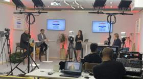 plateau TV du Novotel Lyon-Confluence - bref eco