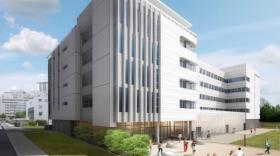 Le campus René Cassin 2 pourra accueillir 1.460 étudiants.