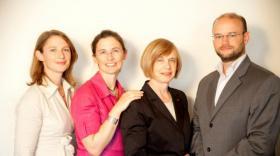 Les enfants d'Elizabeth Ducottet, Anne-Sophie, Delphine et Matthieu, ont rejoint l'entreprise Thuasne.