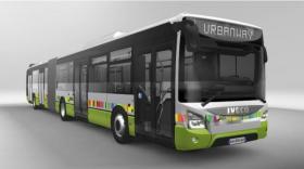 Le Urbanway d'Iveco Bus.