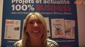 Véronique Garnodier, fondatrice de Charlott' Lingerie.