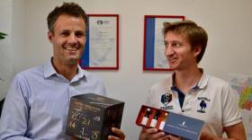Grégoire Henry (à gauche) et Tristan Destremau.