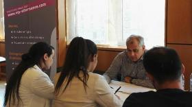 Le Medef Lyon-Rhône présente VIP alternance sur le Forum Entreprise et Alternance organisé par IAE de Lyon.