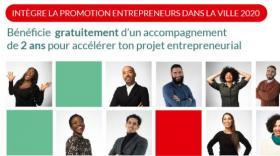 Entrepreneurs dans la Ville 2020: c'est le moment de candidater!