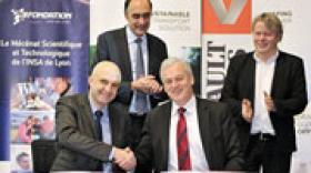 Le groupe Volvo confirme son engagement auprès de l'enseignement supérieur français