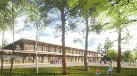 Le nouveau bâtiment de l'école intègrera aussi les locaux de la maison de l'enfance.