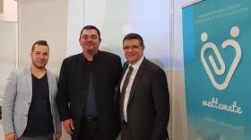 Morgan Melchilsen et Alexandre Tsigris, cofondateurs de Wattamate