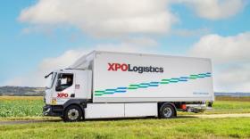 xpo logistics - camion électrique