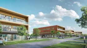 Un 2ème programme tertiaire de 6 200 m² pour le groupe Brunet à Beynost