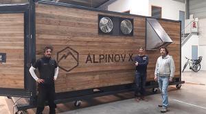Alpinov X et le Crédit Agricole Sud Rhône Alpes main dans la main pour mener la révolution de la neige de culture