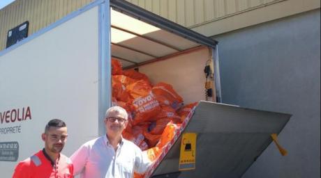 Depuis son lancement en 2017, la start-up Yoyo a permis de collecter près de 7 tonnes de déchets en un an.