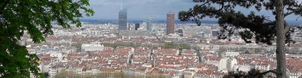Les trois tours de Lyon