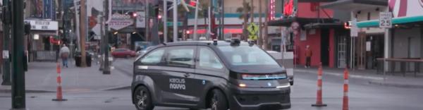 Autonom Cab au CES 2018, brefeco.com