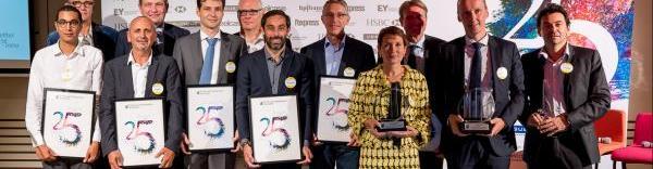 Frédérique Girard-Ory a reçu le prix de l'entrepeneur de l'année pour la région