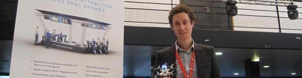 Vincent Rigaud, patron de Drone Interactive brefeco.com