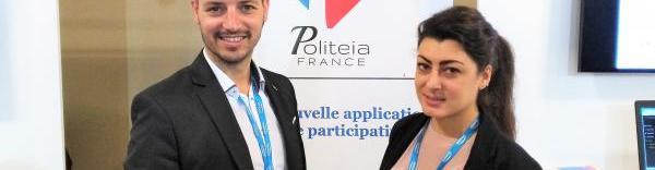 Guillaume et Anaïs Piantoni, dirigeants de Politeia France