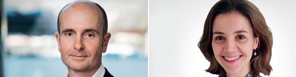 Bertrand Fontaine Associé Expertise comptable - conseil aux entrepreneurs et Sophie Rousseau Responsable offre Managed Services (vos contacts KPMG en Auvergne Rhône-Alpes Bourgogne Franche-Comté)