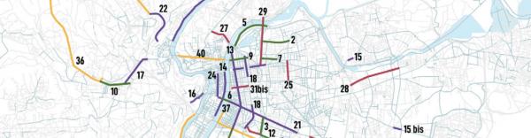 En tout c'est 40 voies qui sont concernées par ce plan cyclable.
