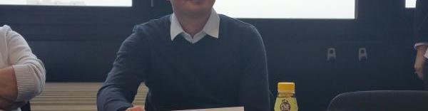 Sébastien Branche, producteur de lait et yaourts bio.