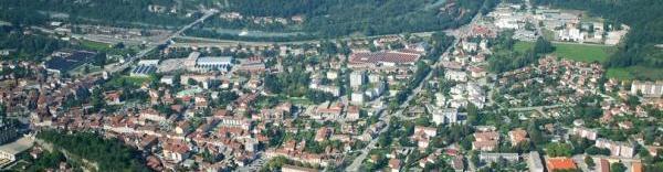 Dans la vallée de la Romanche, le PPRI bloque l'immobilier tertiaire.