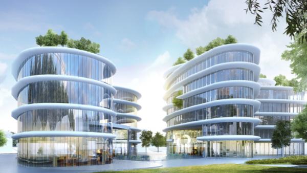 Skylab, le futur siège social de Newquest, à Chambéry.