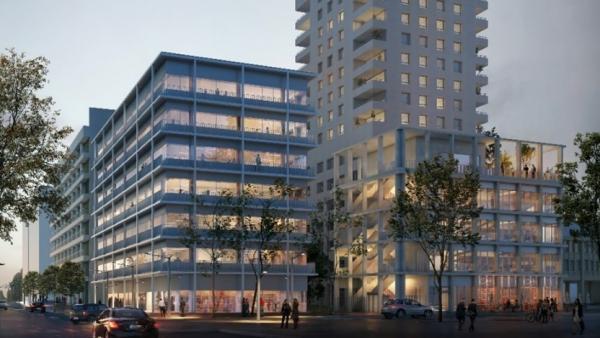 Bouygues Immobilier et Linkcity vendent deux bâtiments de Lyon Confluence