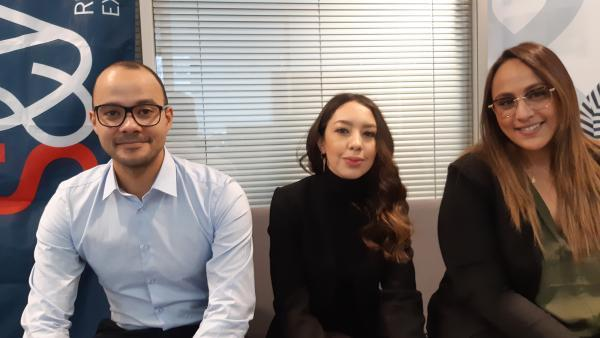 Roland Delwaulle, Nejma Berdoudi et Sarah Ouriel, brefeco.com