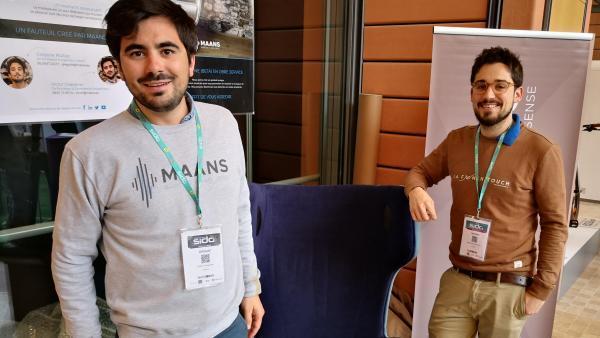 Victor Chevallier et Grégoire Mulliez, les deux fondateurs de Maans