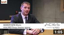Acies - ABGI GROUP, partenaire des Trophées de L'innovation Bref Eco Auvergne Rhône-Alpes
