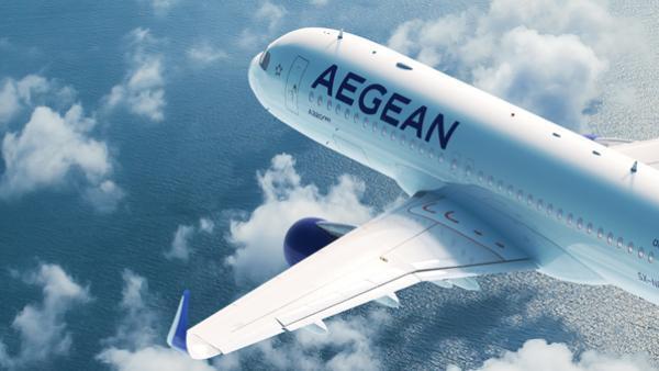 Quatre îles grecques en direct de Lyon avec Aegean Airlines