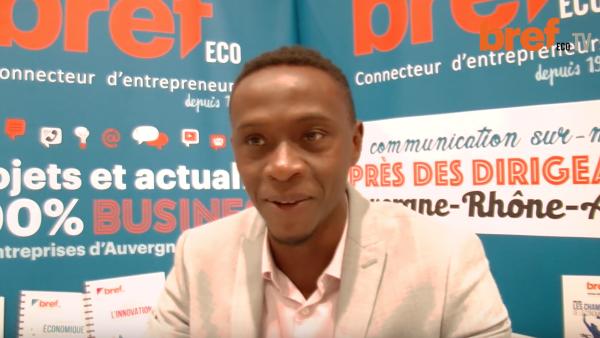 Almansour Diallo, fondateur de Naveco - bref eco
