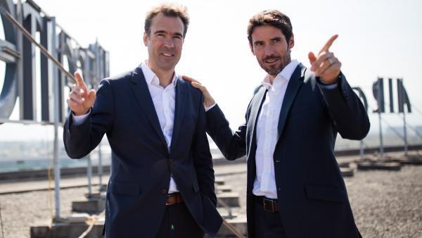 Olivier Brourhant et Olivier Tisseyre, deux cofondateurs d'Amaris.