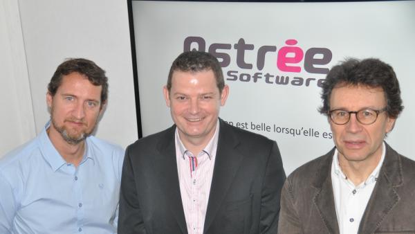 Pierre JOURDAT, Nicolas STORI et Didier VIALLY.