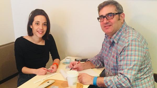 Audrey Belmonte et Narciso D'Agostin, brefeco.com