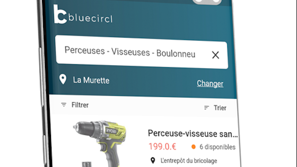 BlueCircl géolocalise les produits en magasin