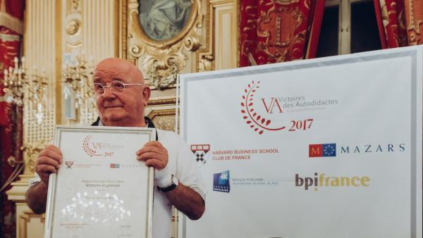Yves Bontaz, lauréat régional des victoires des autodidactes en 2017. brefeco.com