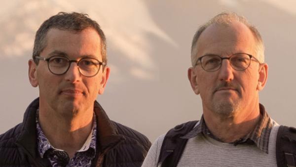 Luc Blanchet (à gauche) et Eric Bouchet de Botanic ont remporté le Prix de l'Entrepreneur de l'Année.