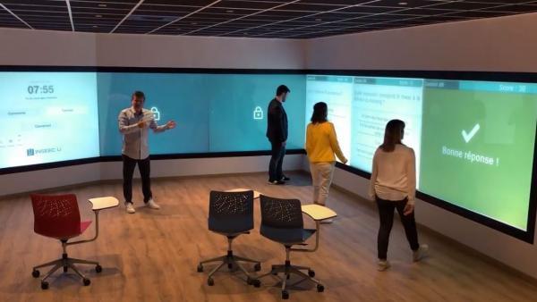 L'Inseec U. Campus Chambéry expérimente la classe du futur