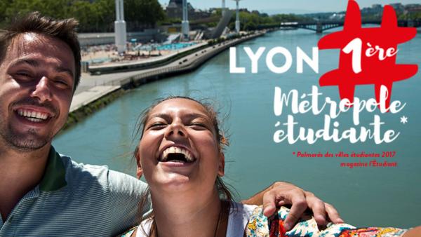 Palmarès des villes étudiantes : Lyon consacrée !
