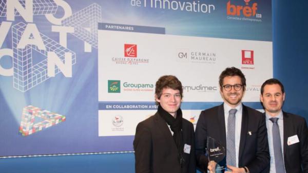 Saga #3 Trophées de l'innovation Bref Eco :  Biocorp, lauréat objet connecté