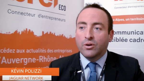 Kévin Polizzi, fondateur de Jaguar Network. - bref eco