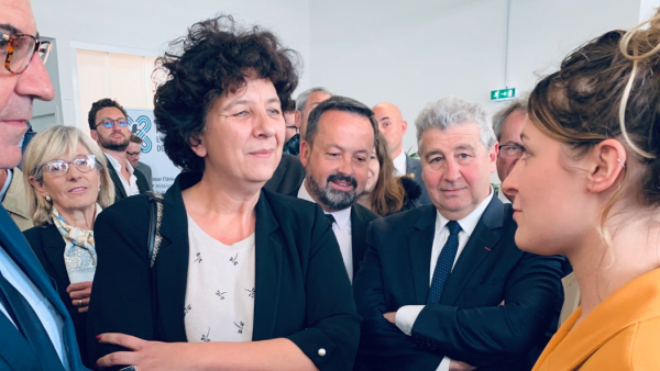 Frédérique Vidal à Lyon, brefeco.com