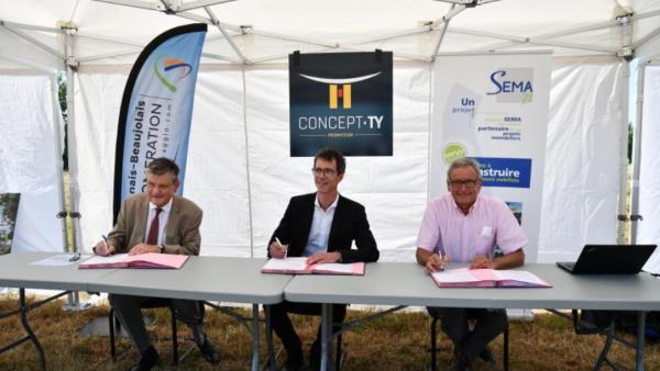 Europarc Sud Bourgogne: deux grosses implantations à venir