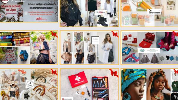 L'Adie organise un marché de Noël en ligne